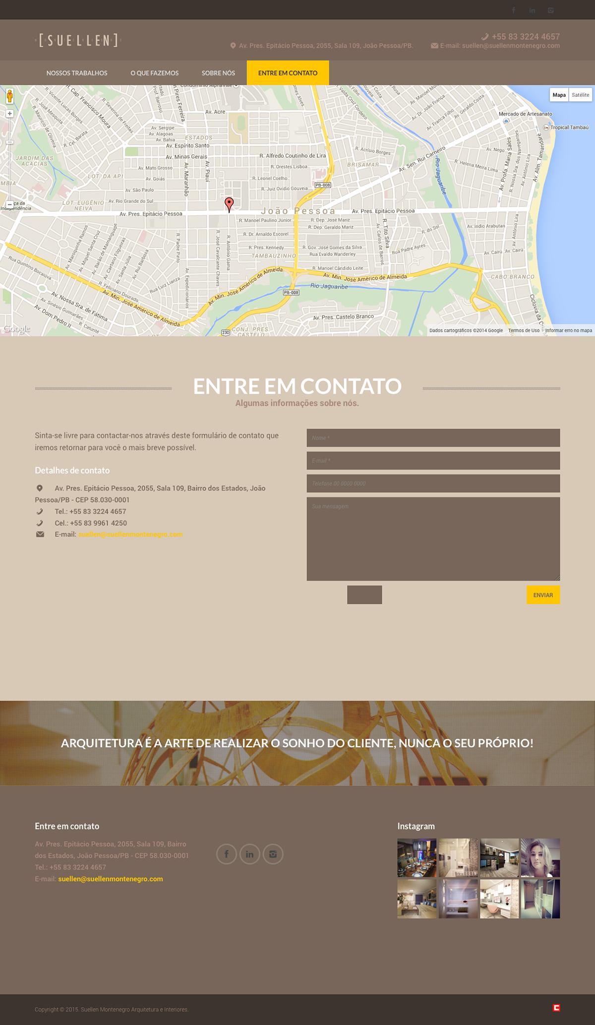 criação de site site arquitetura clidenorME clidenor site site responsivo João Pessoa Paraíba