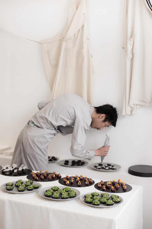 Fashion  Food  Photography  Le paradox Dario Ruggiero Cecilia Musmeci Atsushi Tanaka Ageless Einzelgänger Restaurant A.T. design