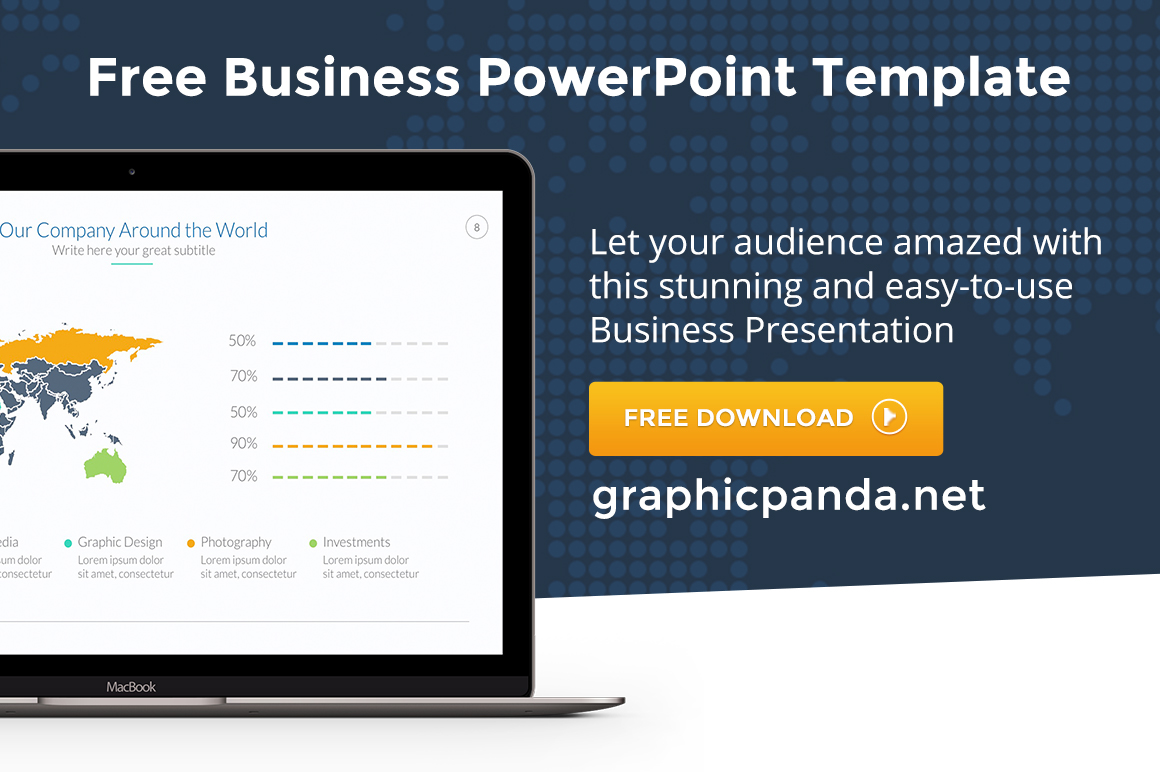 free business powerpoint templatelouis twelve on behance, Powerpoint templates