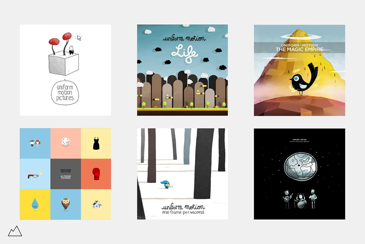 uniform motion covers albums