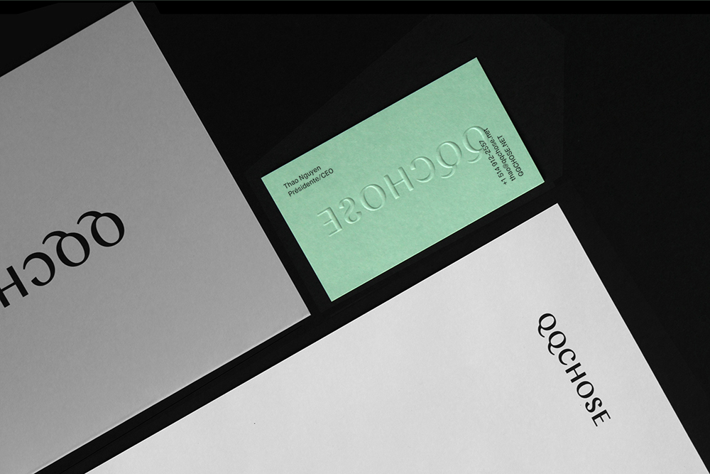 logo business card Packaging Fashion