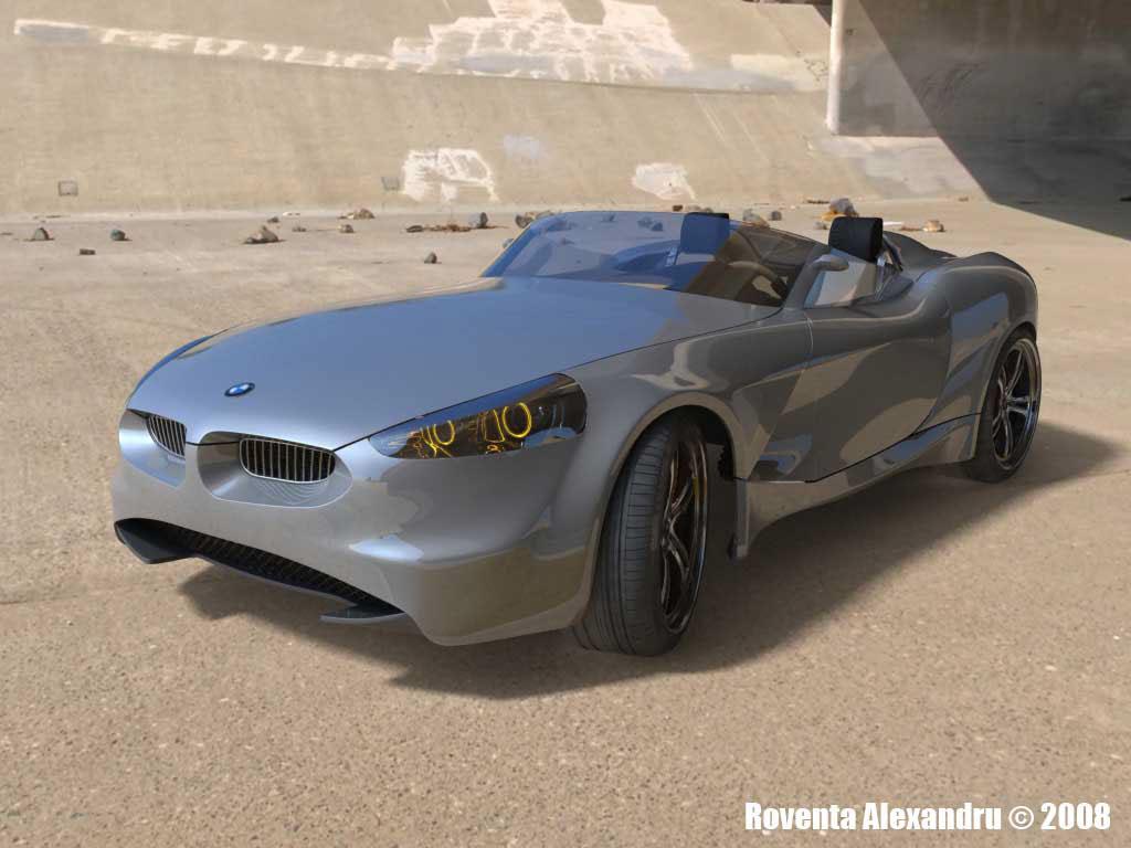 roventa alexandru ruver design automotive   3D 3ds 3d max BMW concept car Vehicle vray