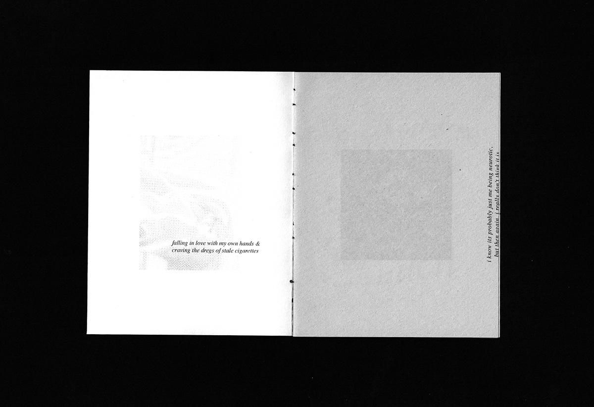 Zine  magazine Poetry  poetry zine Design Zine Zine Design DIY diy zine