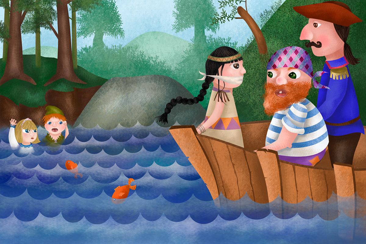 libro ilustrado cuento clásico Album Ilustrado libro ifantil ilustración infantil