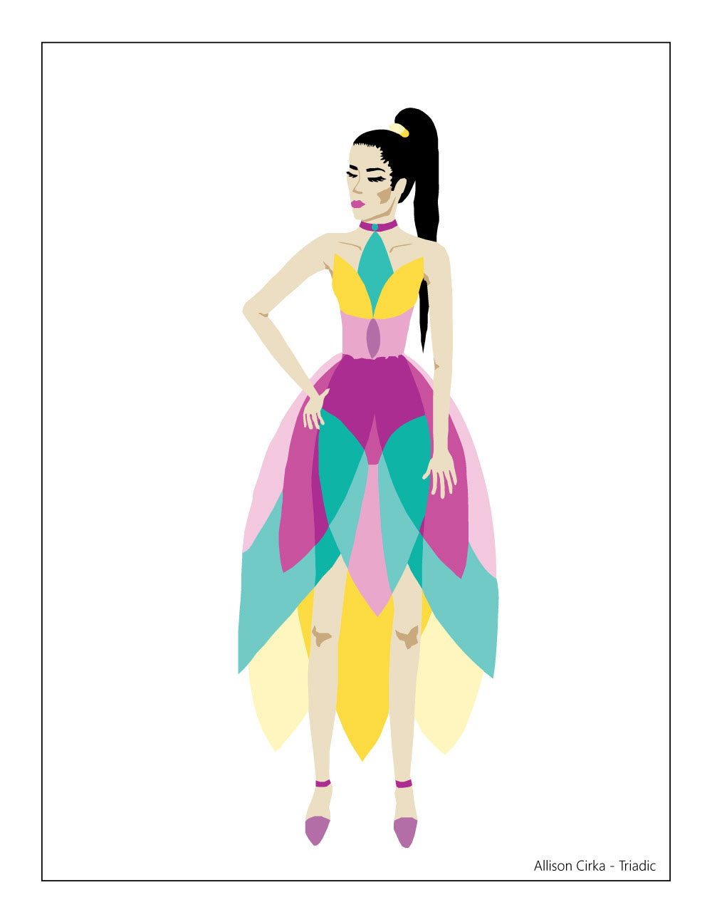 Fashion Design Color Scheme Var Adobe Illustrator On Behance
