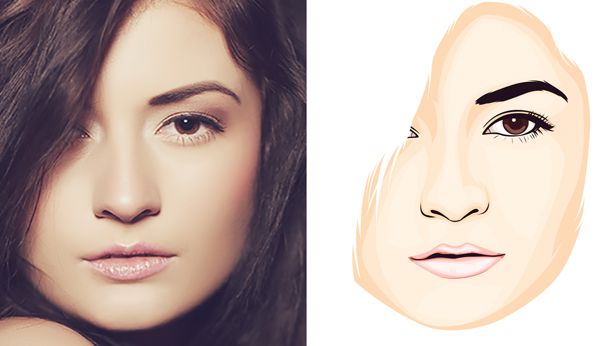 Photoshop Tutorial Vexel Face on Behance
