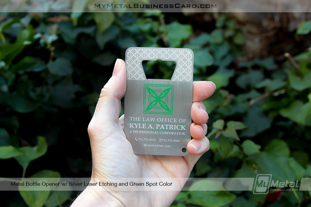 Metal bottle opener business cards for lawyers on behance colourmoves
