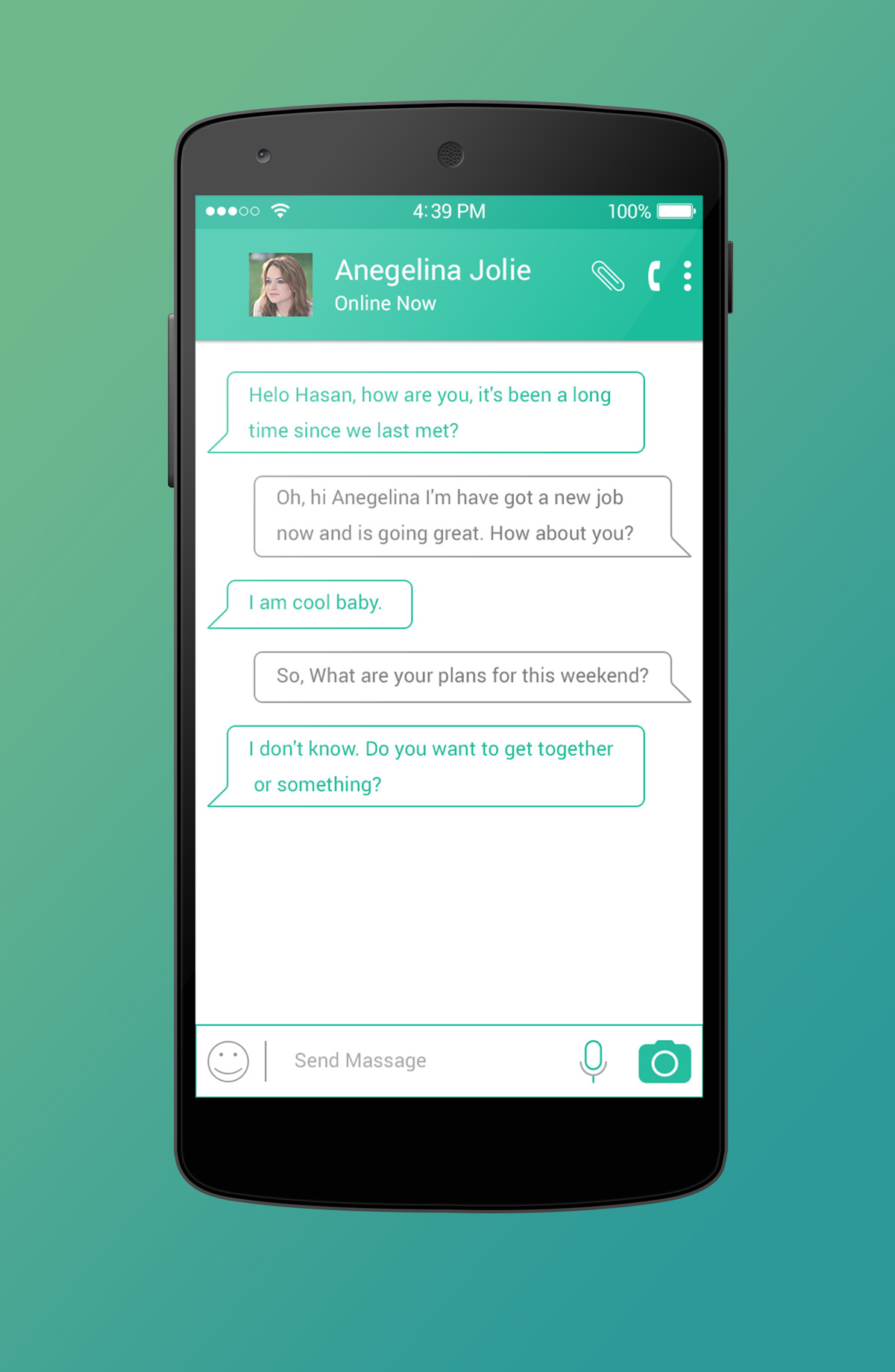 WhatsApp Redesign PSD Free Download on Behance