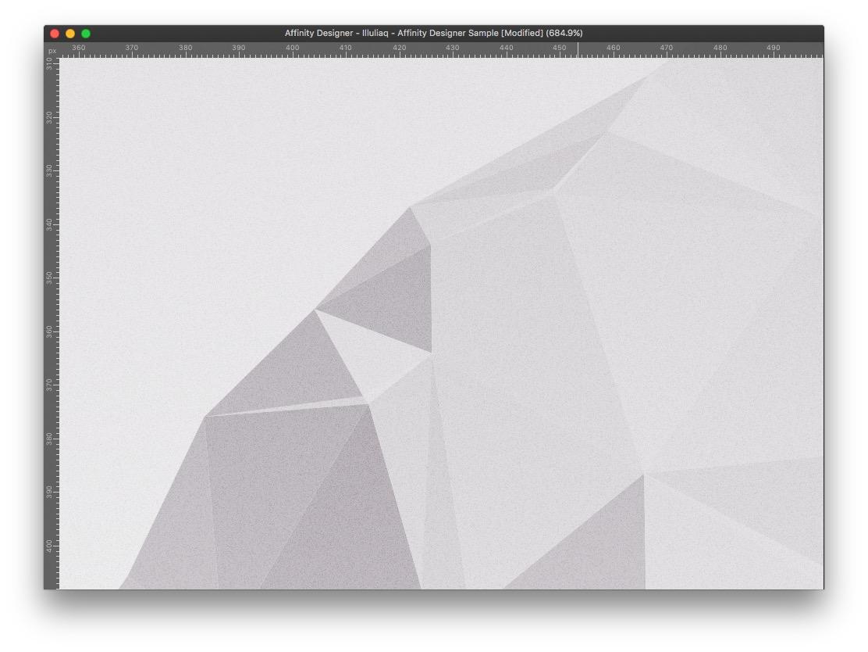 Affinity unsplash serif Ocean iceberg dmesh low-poly polyart vector
