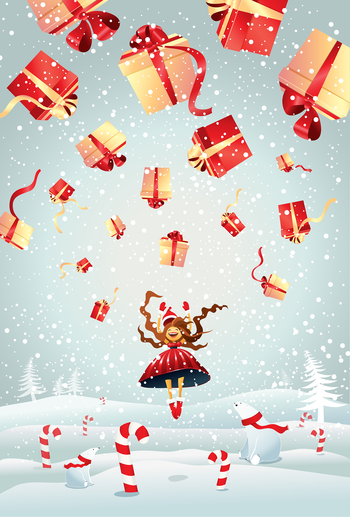 Christmas Illustrations.Christmas Illustrations On Behance