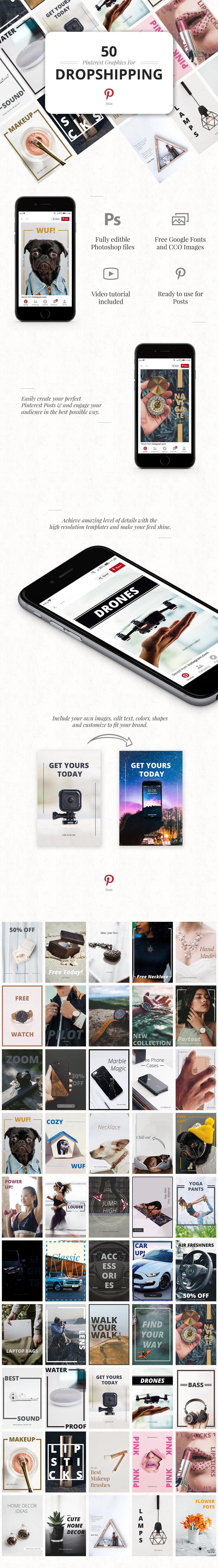Pinterest dropship dropshipping social social media Pinterest Template pinterest post pinterest photoshop pin template pinterest psd