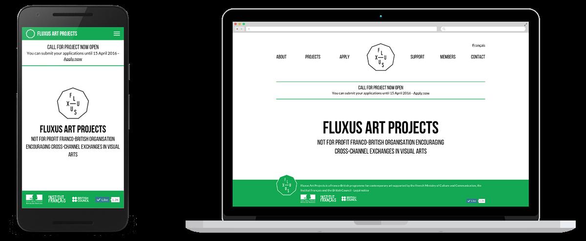 Fluxus charity French british London art visual grant