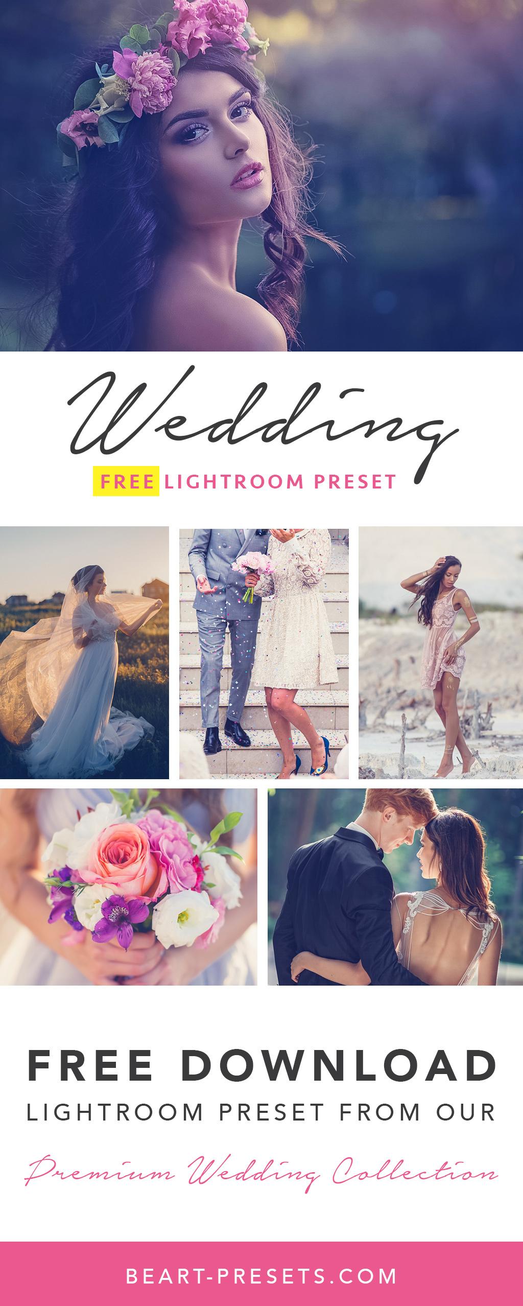 BEST FREE WEDDING LIGHTROOM PRESET DOWNLOAD on Behance