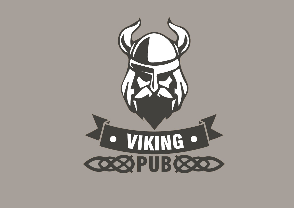 Logo Design For Viking Pub On Behance