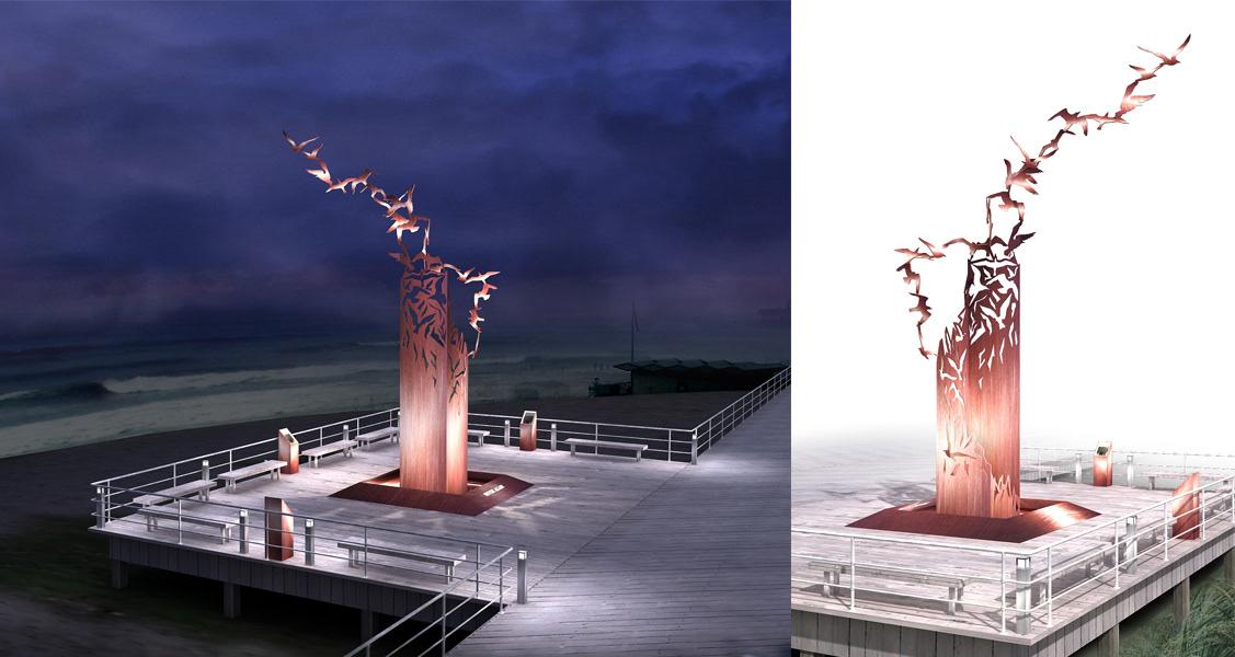 american architecture contest contest design CONTEST WINNER design exterior holocaust Memorial monument