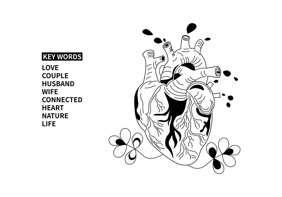 book,book cover,book design,cover,heart,ILLUSTRATION ,Love,Nature