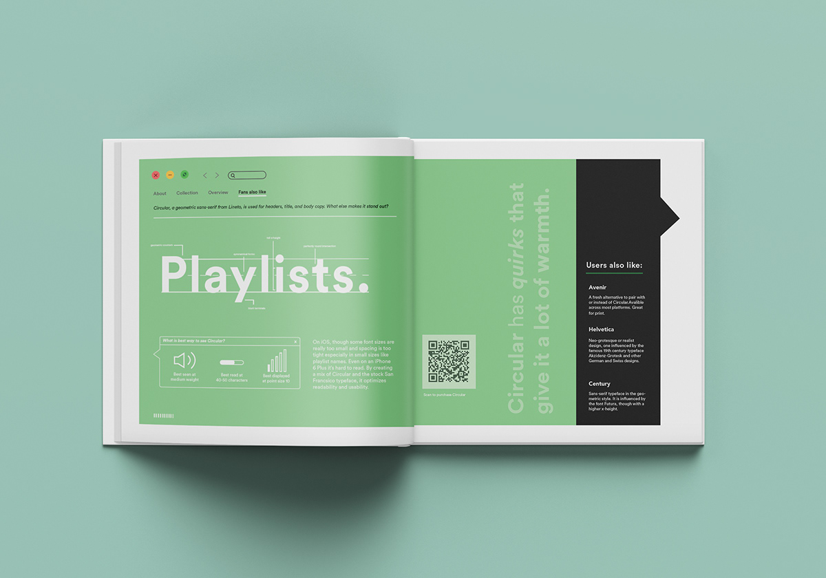 Circular: Spotify's Typographic Solution on Student Show