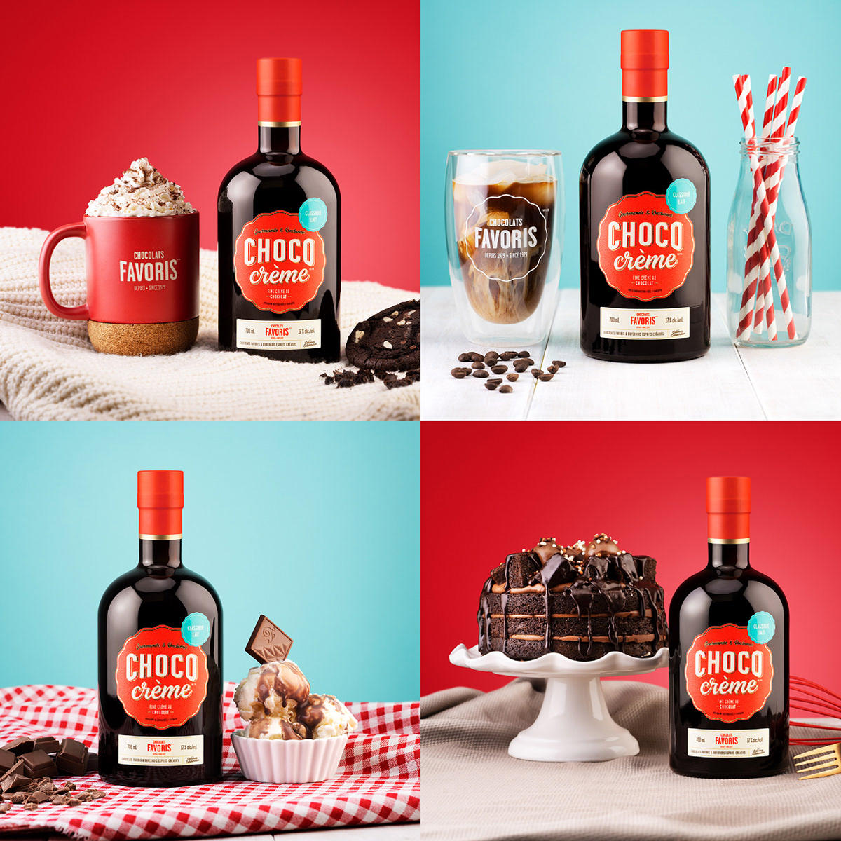 Chocolats FavorisandDuvernois Creative Spiritsjoin forces to offer you Choco Crème
