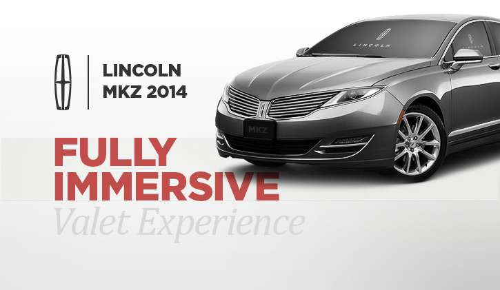 Lincoln Mkz Experience On Behance
