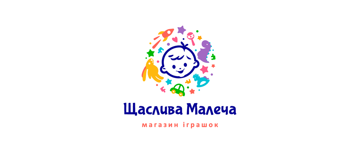 Kids Logo children branding Logo Design логотип детских игрушек ЛОГОТИП ДЕТСКИЙ логотип детского магазина фирменный стиль детский