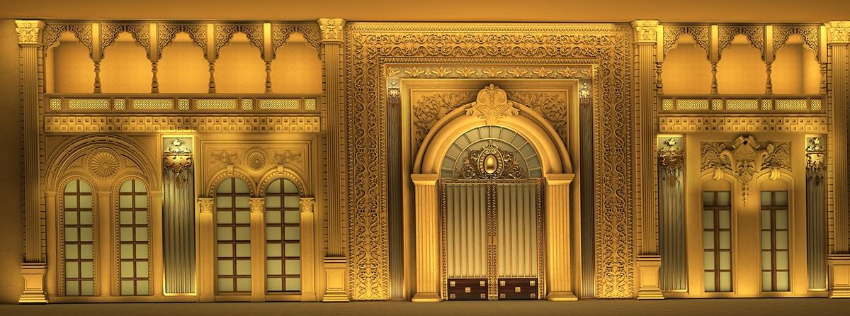 Classical Roman Interior Design