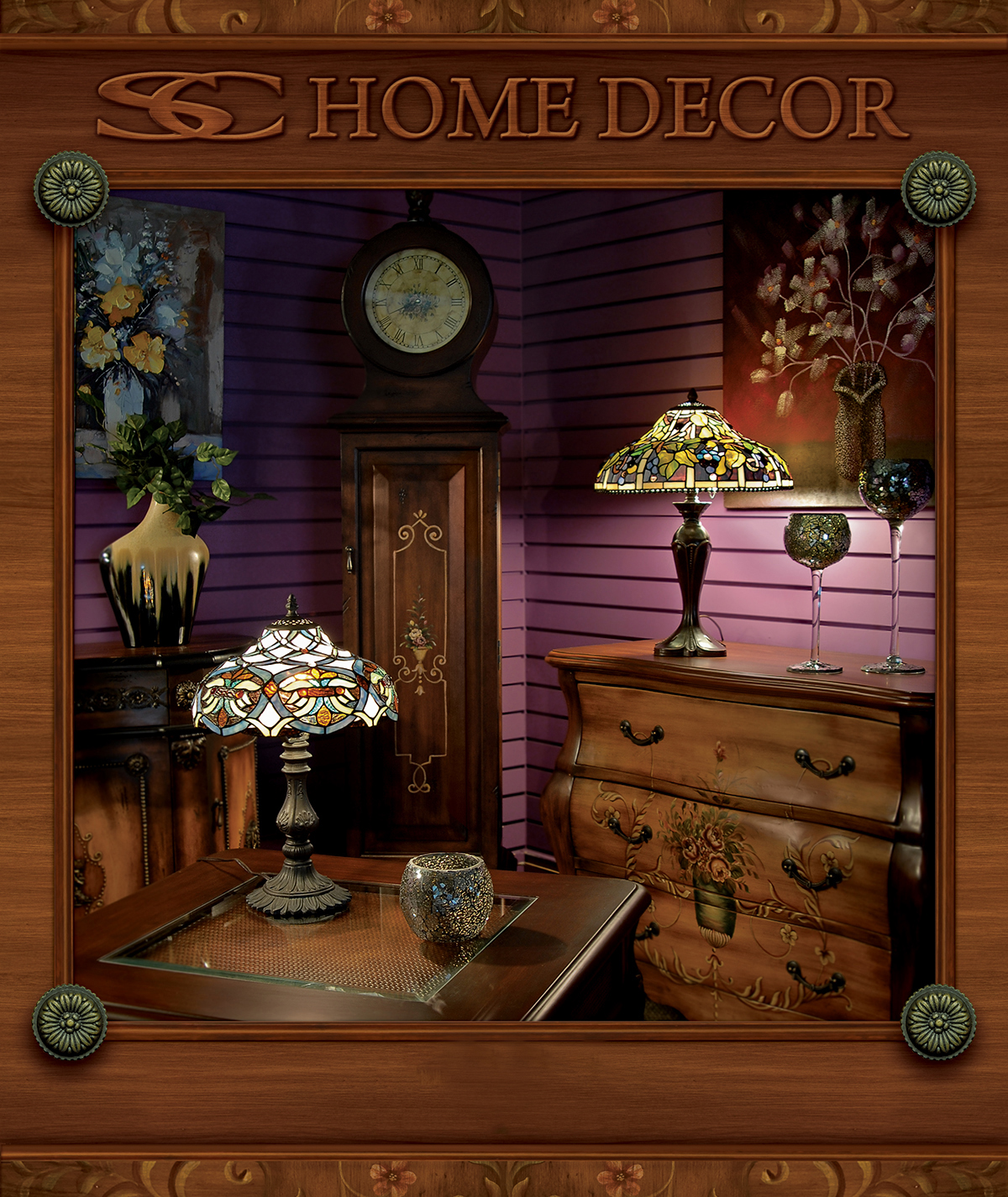 Home Decorations Catalogs: SC Home Décor Wholesale Catalog Binder On Behance