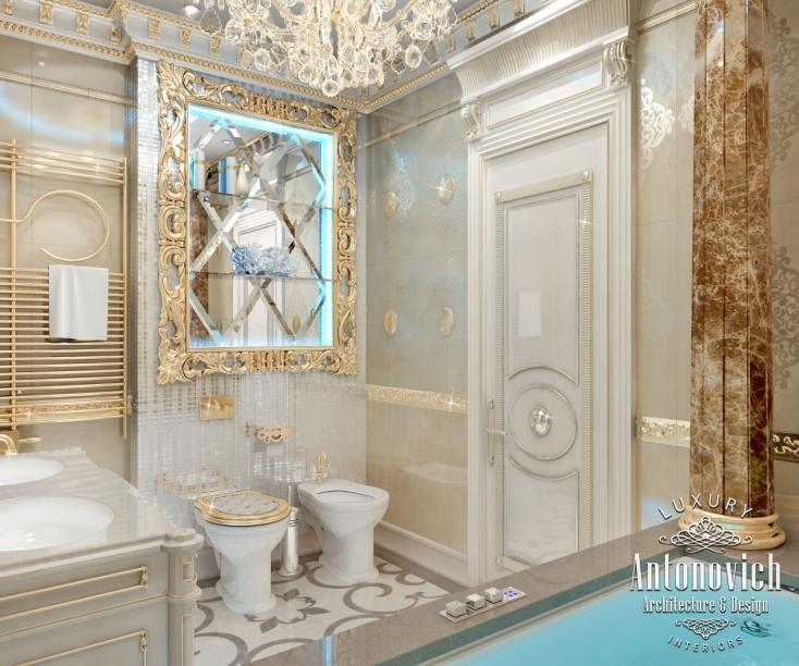 Luxury Master Bedroom Dubai On Behance: Bathroom Design Dubai, Antonovich Design On Behance