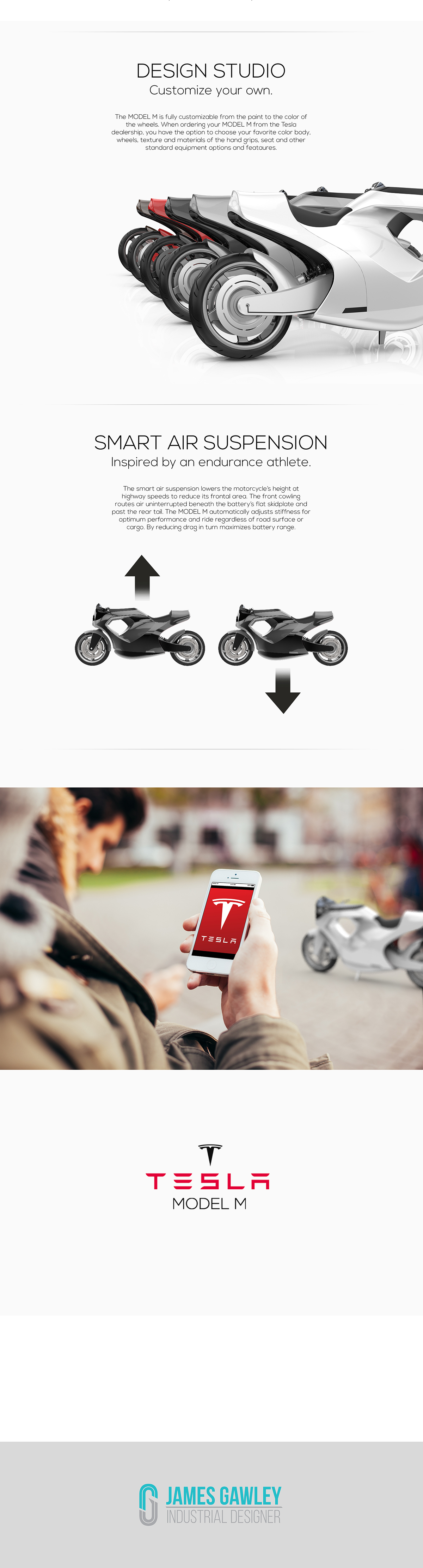 tesla model m motorcycle electric Sustainable transportation TRANS