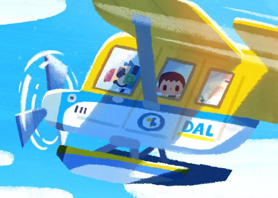 Animal Crossing Tribute New Horizons on Behance