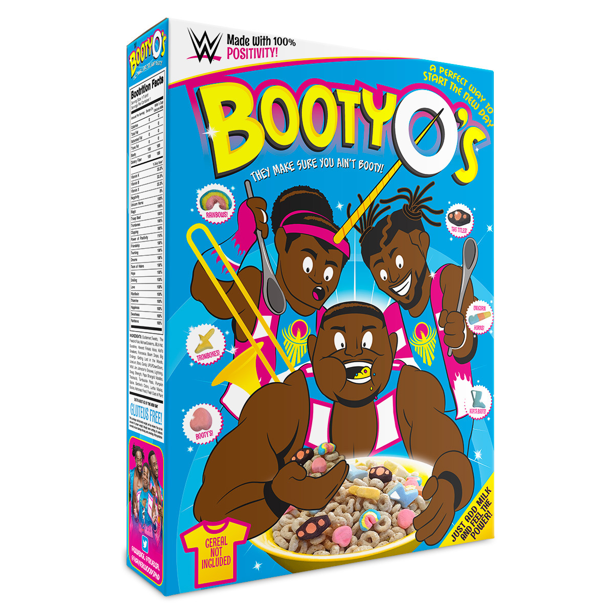 WWE: The New Day Booty-O's Cereal Box/t-shirt On Behance