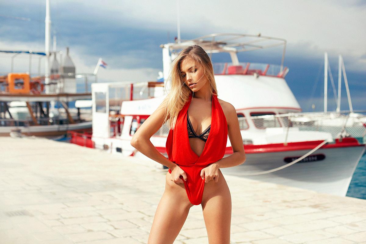 Is a cute Bikini Olga Kobzar naked photo 2017