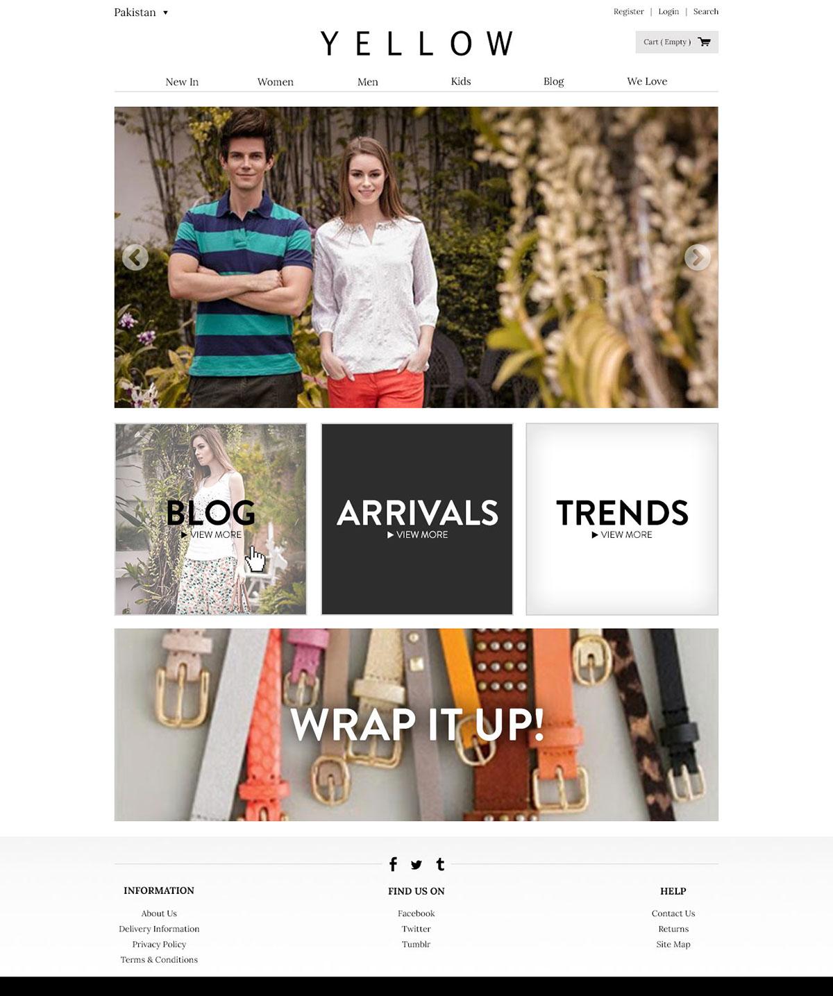 graphic design Fashion  brand UI/UX Blog Web site cloth