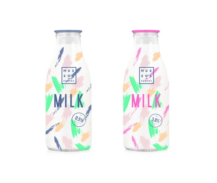 Food  milk egg water can package