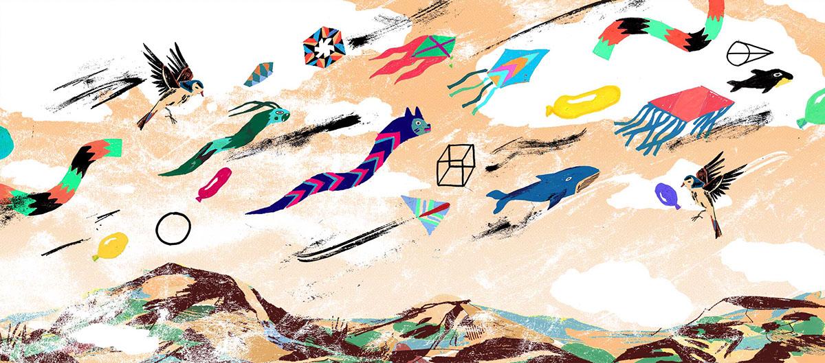 Kite mountains Fall festival