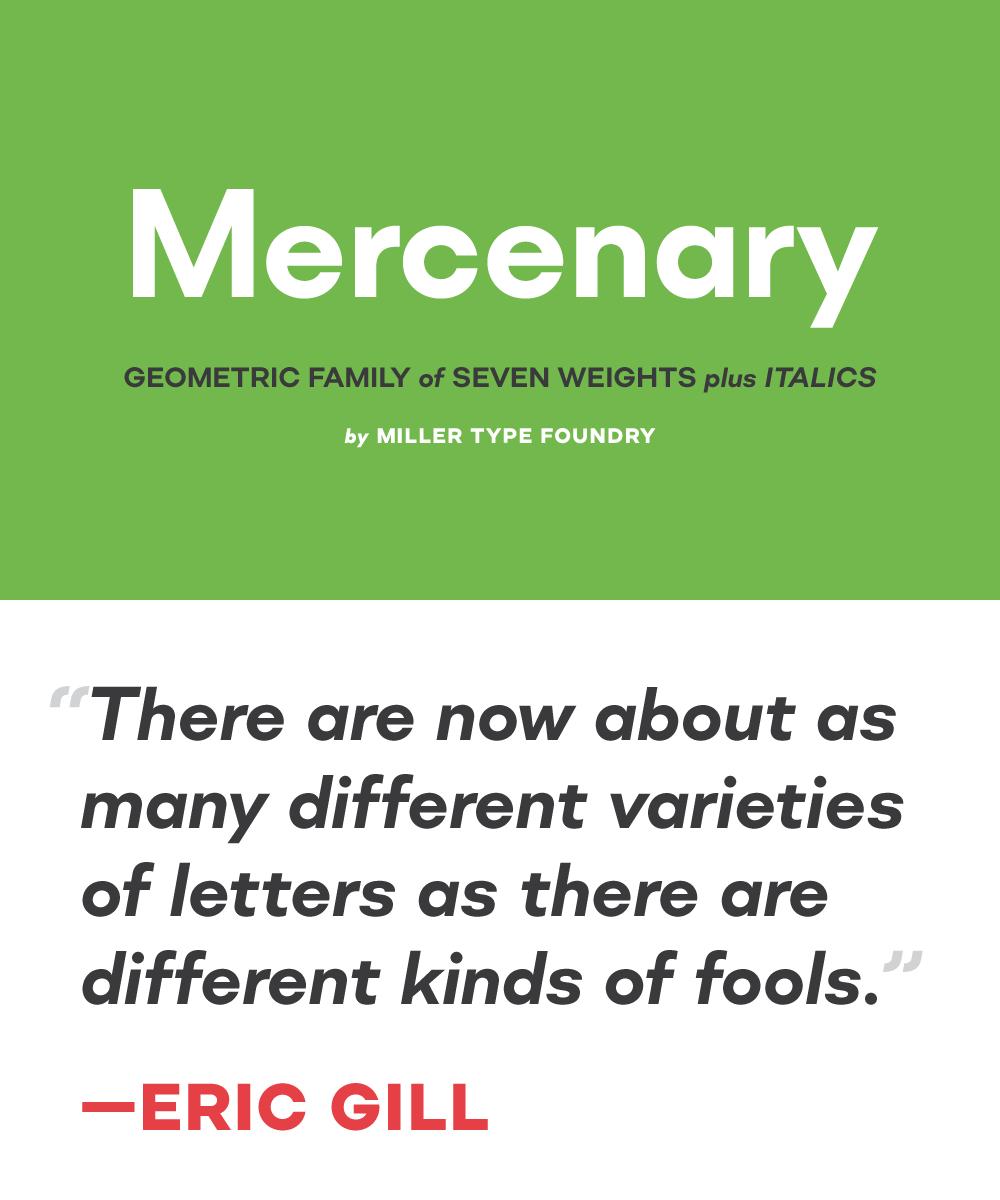 Mercenary Geometric Font Family on Behance