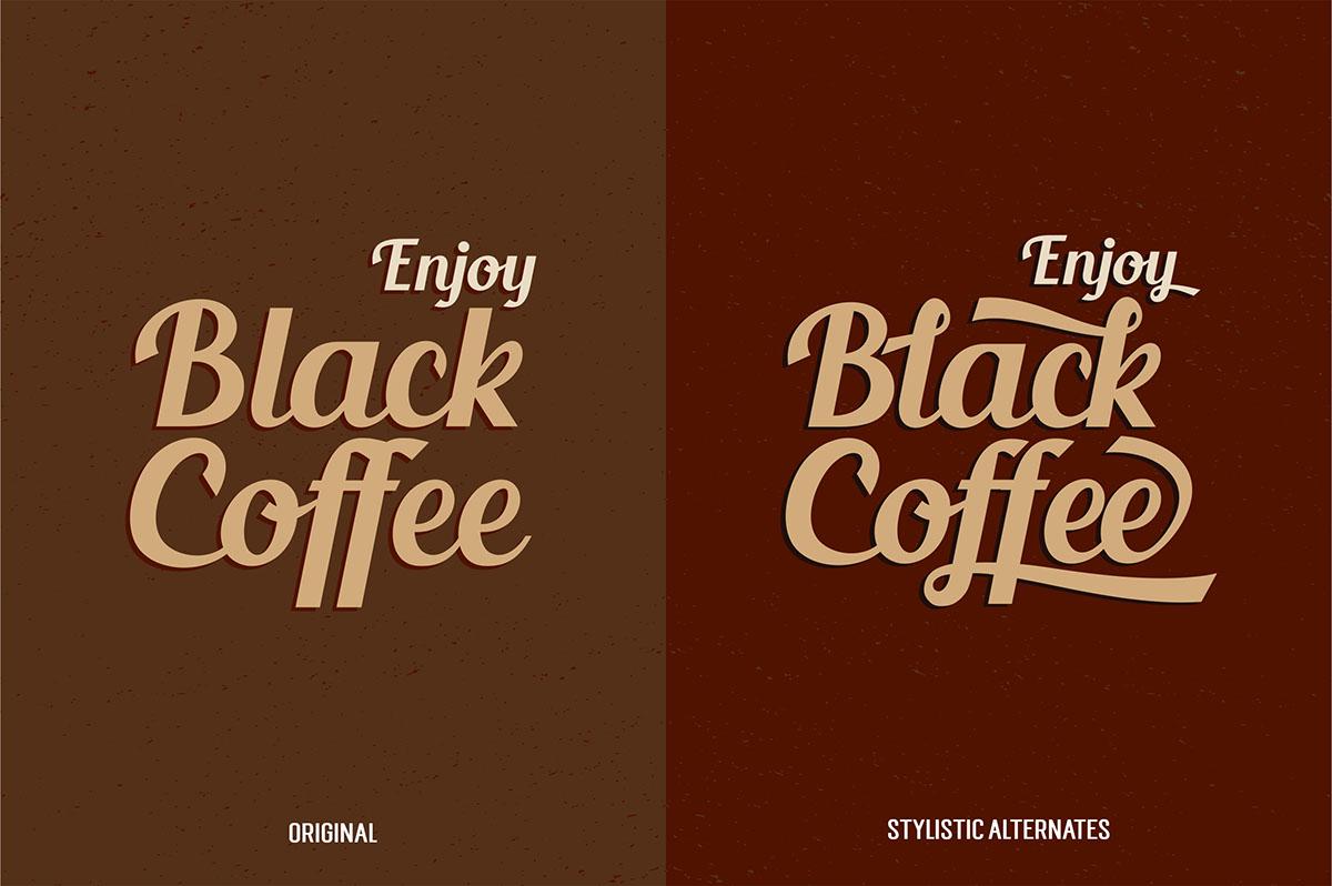 free Typeface fonts type freebie Script