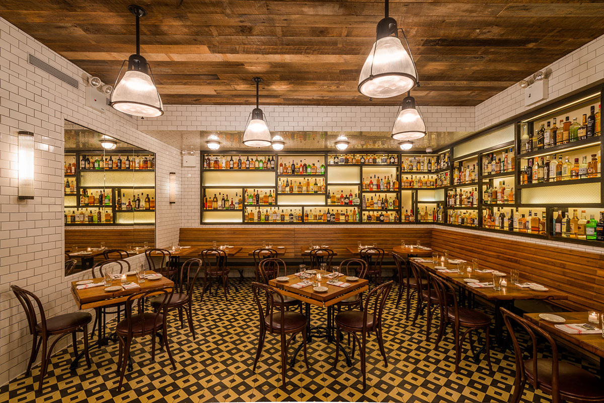 The smith restaurant east village nyc on behance for The village nyc