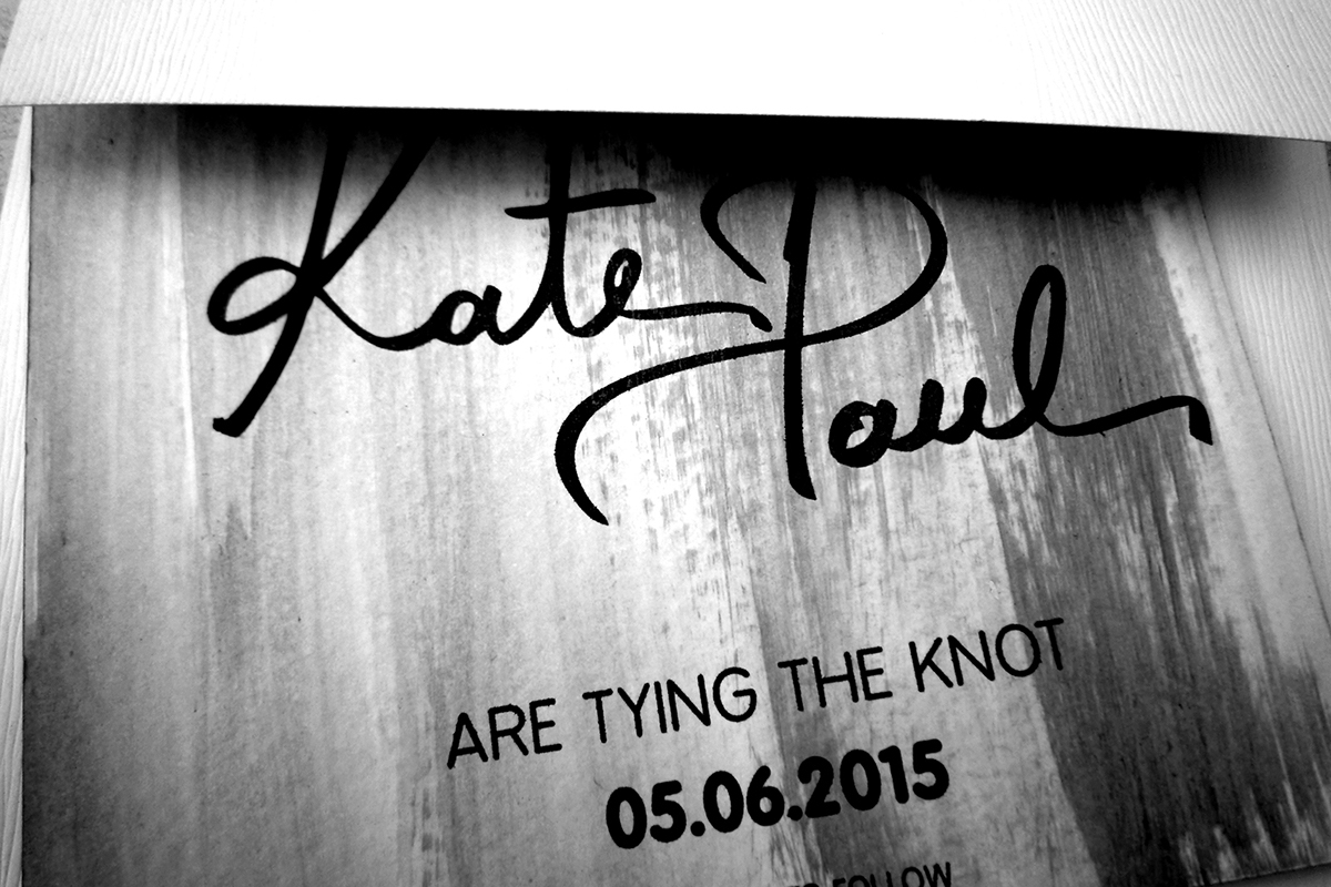 save the date wedding The Knot