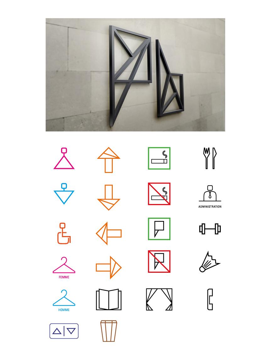 logo Pictogramme school Mockup