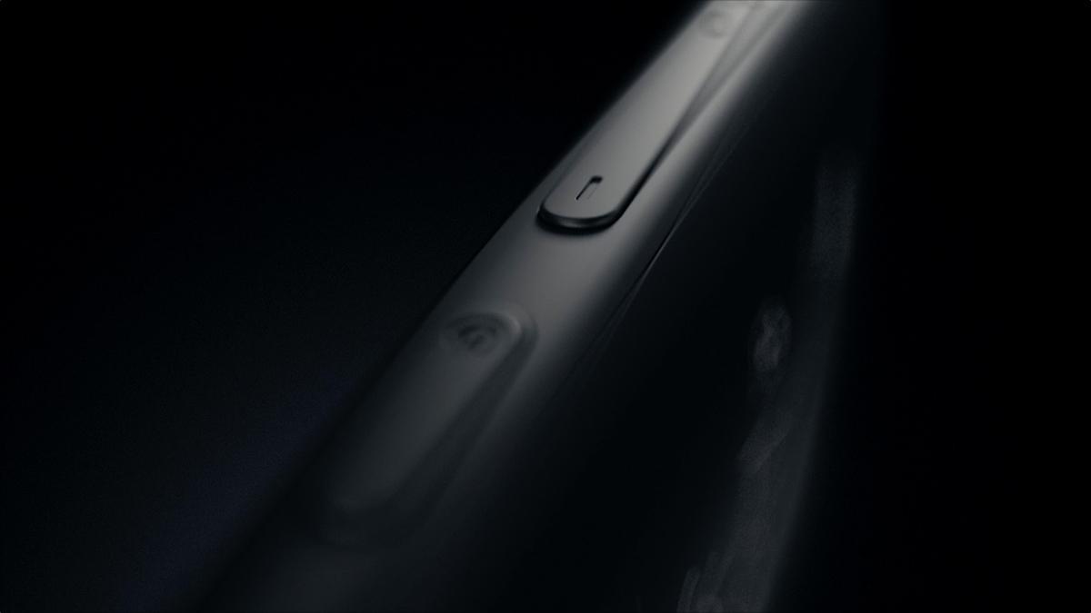 Yota phone teaser black dark