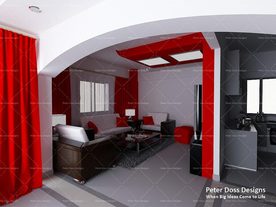 Modern Style Apartment On Behance