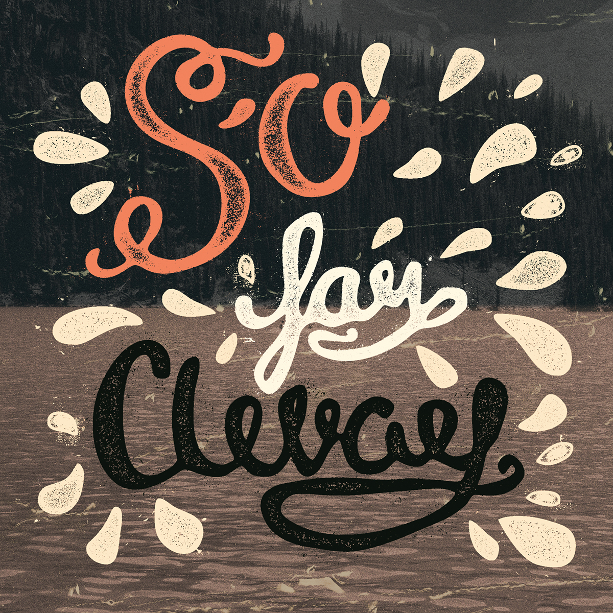 lettering speckles adobe illustrator graphic styles actions textures ink grain vintage Retro inked text effects effects handmade handprinted press