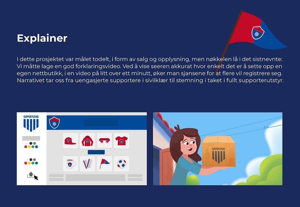 sport cheering supporter family branding  explainer Character design  animation