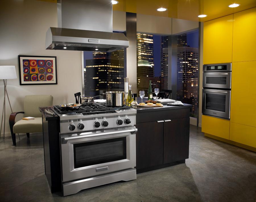 Beau KitchenAid Commercial Appliances Concept, Set Design, Construction  Supervision, Model Direction, Creative Direction, Culinary Direction, ...