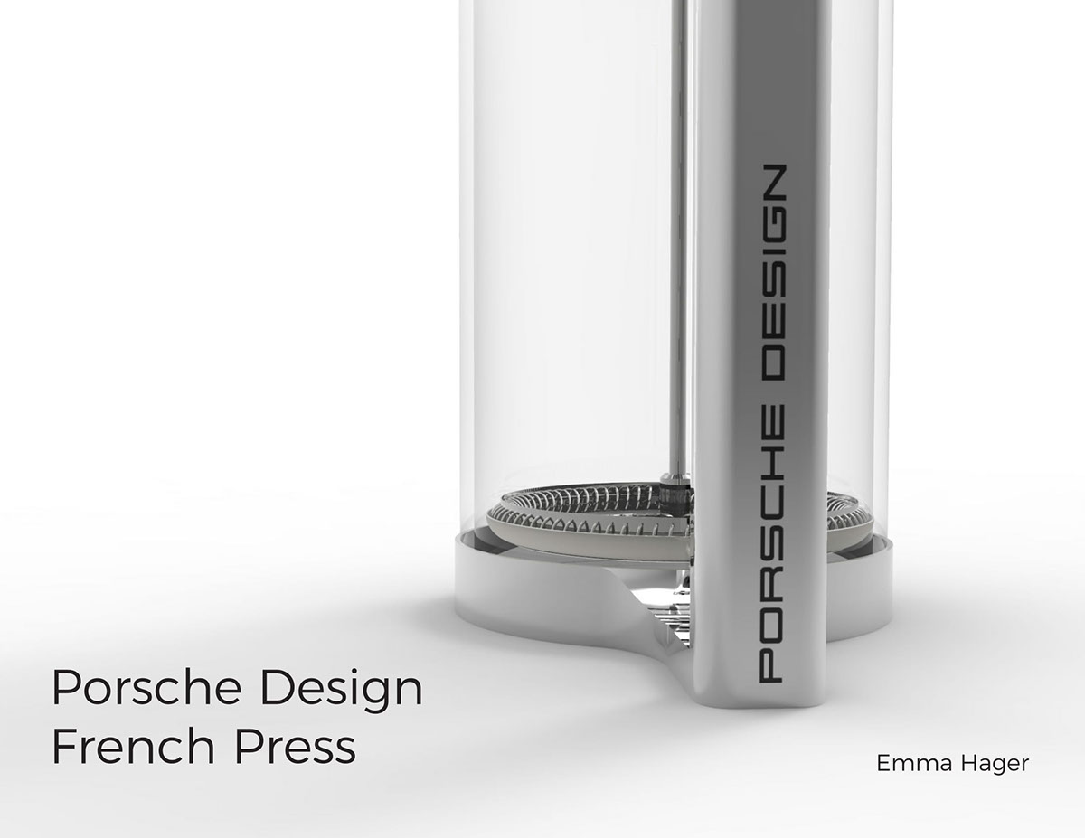 Porsche Design French Press On Massart Portfolios