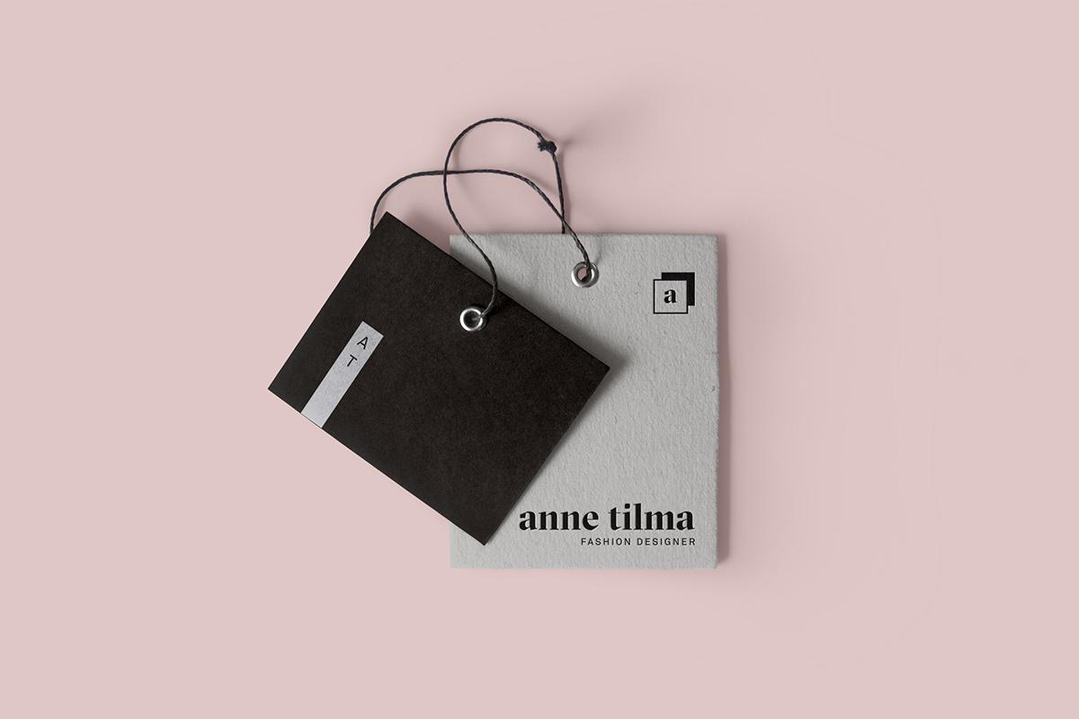 identity graphic design minimal brand Fashion Designer fashion design black and white grayscale