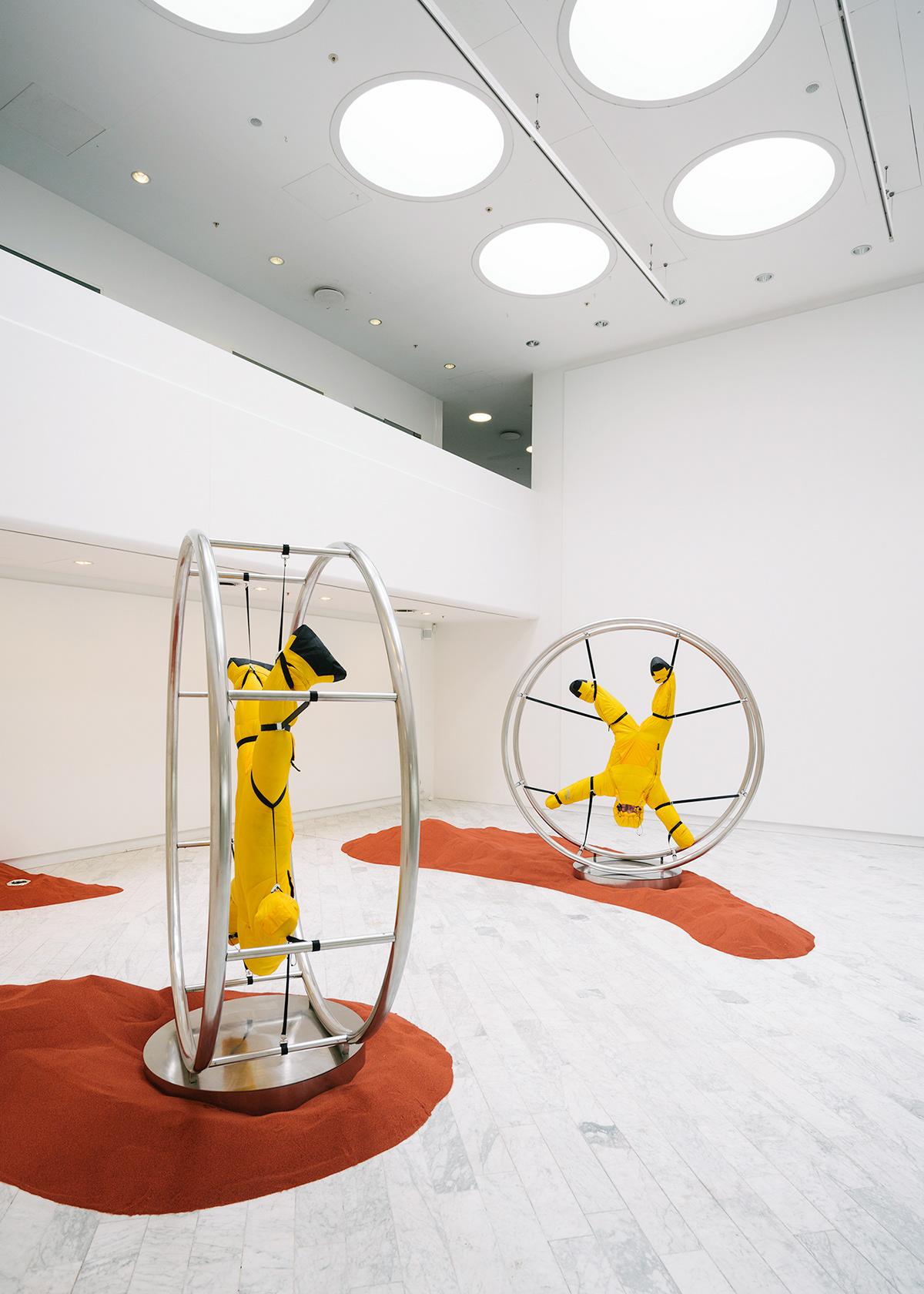 art cold contemporary copenhagen deja design gallery sleep Stine tränen