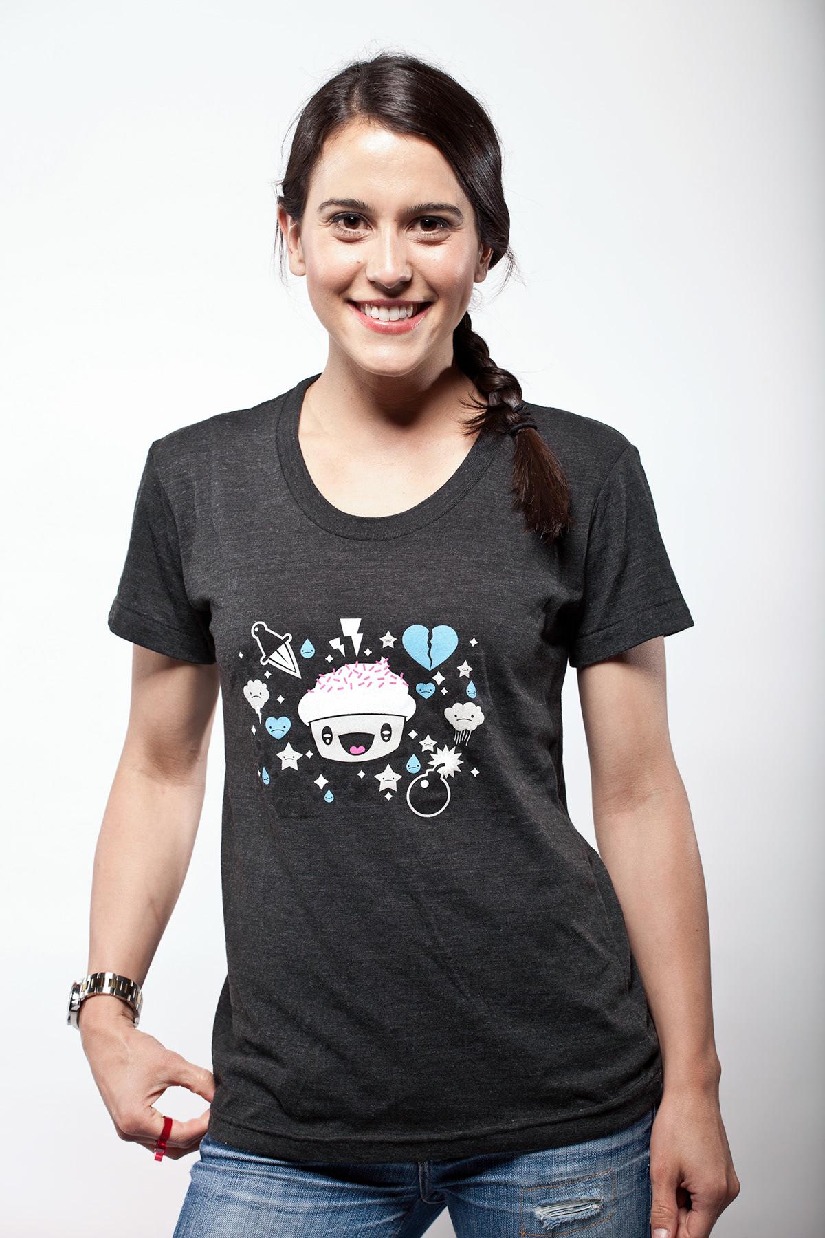 vector kawaii apparel Character design  streetwear