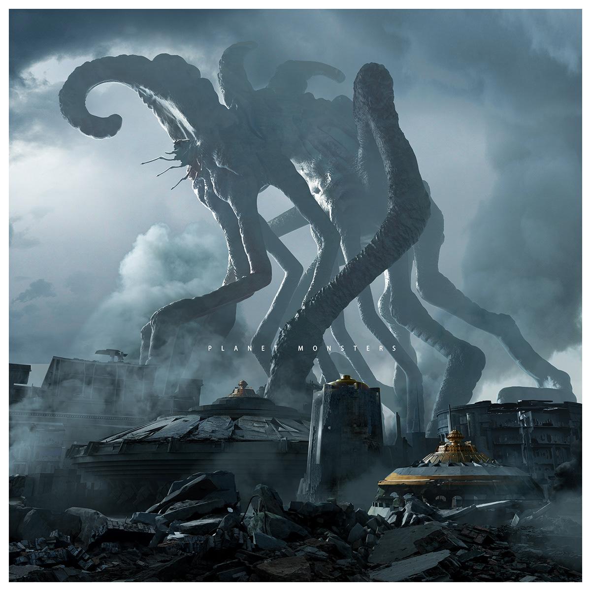 planet monster on behance