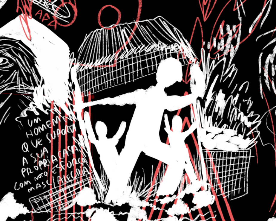 Image may contain: cartoon, poster and drawing